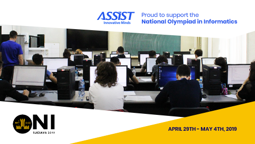 ASSIST Software is supporting the National Olympiad in Informatics 2019 - promoted image