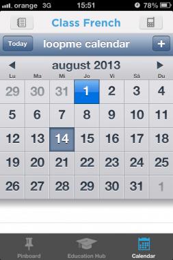 loopme calendar