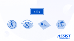 Web Content Accessibility Guidelines - A and AA compliance levels - promoted piscture