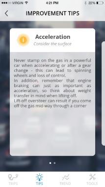 DriveNtell - Tips