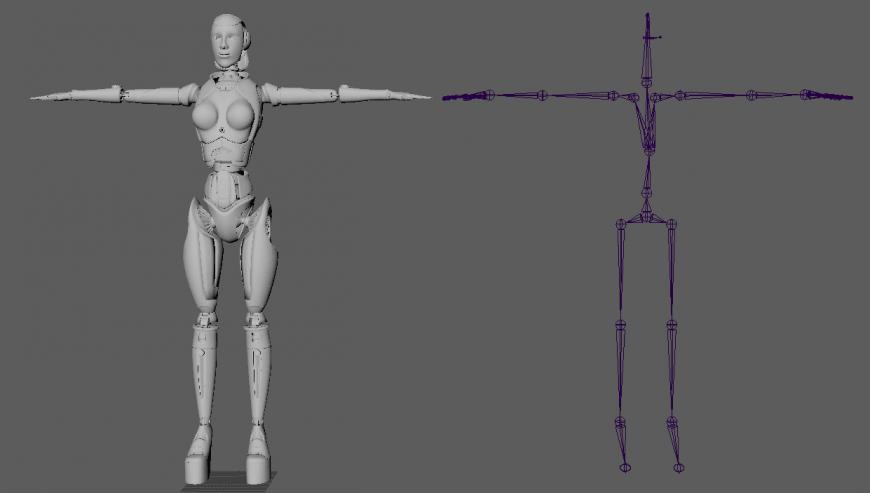 human full kinematic skeleton