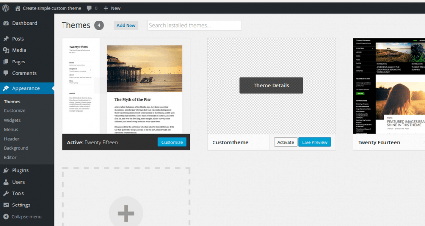 How to create a simple and responsive theme in WordPress | ASSIST ...