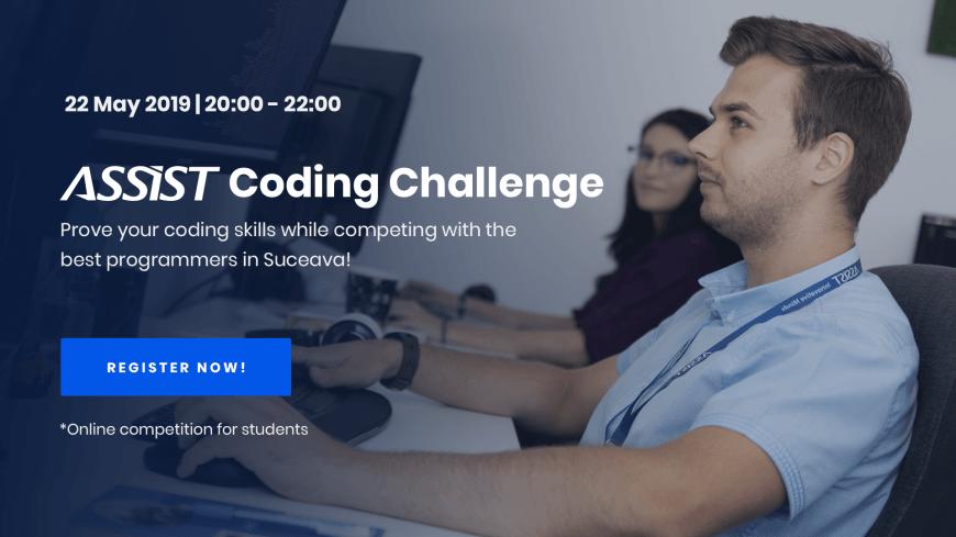 ASSIST Coding Challenge - Registrations open! | ASSIST
