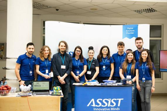 ASSIST Software team present at Codecamp Suceava