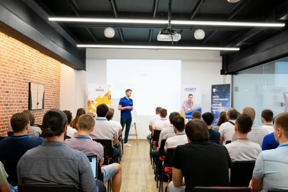 ASSIST Software present at Codecamp Chișinău