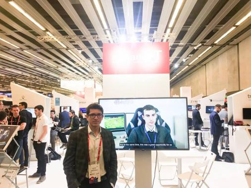 ASSIST Software at Mobile World Congress 2018 - Sebastian Macarescu