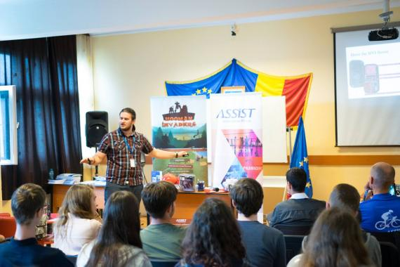 Open Doors ASSIST at Petru Rareș National College in Suceava