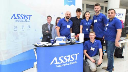 ASSIST Software participated at the first edition of Codecamp Suceava, on June 24th.