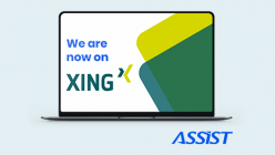 ASSIST Software is now on Xing - Promoted photo