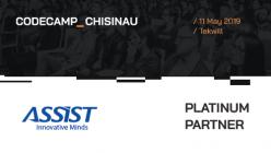 Meet ASSIST Software at Codecamp Chișinău 2019 - promoted image