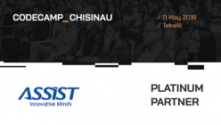 Meet ASSIST Software at Codecamp Chișinău 2019 - promoted image